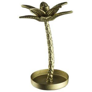 Kaarstandaard palmboom goud