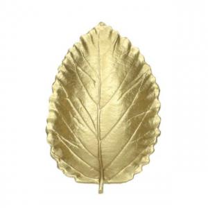 Schaaltje goud blad - L